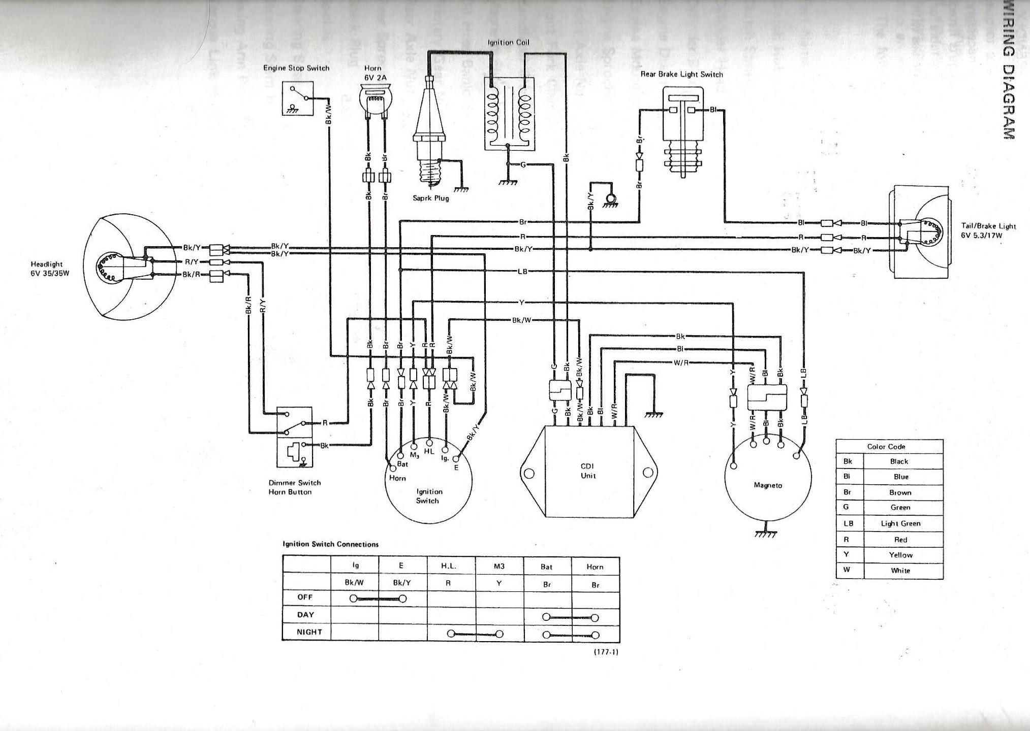 kt250 wiring issue | kawasaki world  kawasaki world